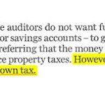 Elma: Too Much In Savings Accounts. No Town Tax!