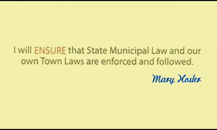 Mary Hosler: I Will Enforce The Law