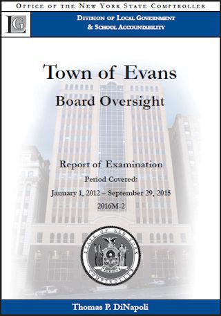 NYSOSC Evans Audit 2012 to 2015