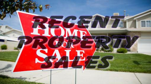 Online Data: Recent Property Sales