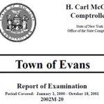2002 Evans Audit