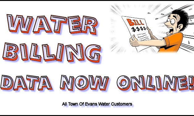 Water Billing Data Now Online!