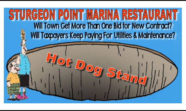 Sturgeon Point Marina Restaurant: Will Corporate Welfare Continue?