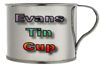 Town Of Evans NY Tin Cup
