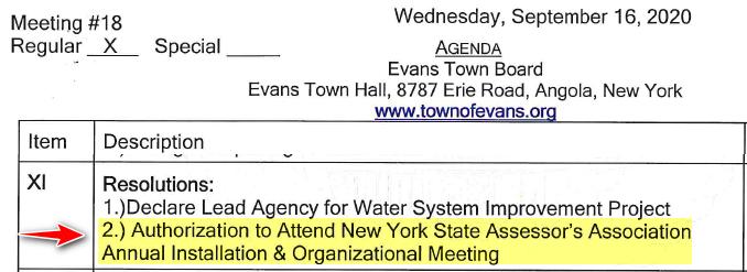 Evans Agenda 2020 09 16 B