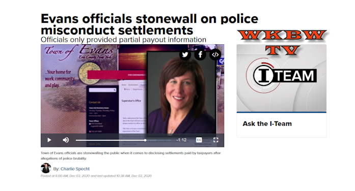 Evans Officials Stonewall On Police Misconduct Settlements