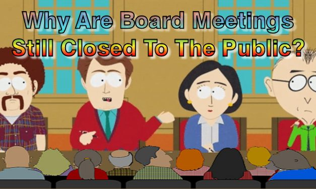 Why Are Town Board Meetings Still Closed To The Public?