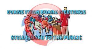 Evans NY Meetings Closed
