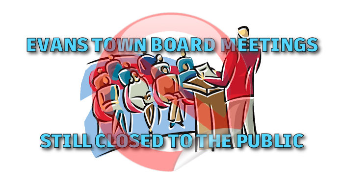 Evans In-Person Board Meetings Still Closed To Public