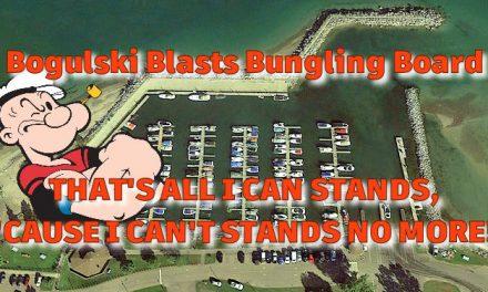Bogulski Blasts Bungling Board