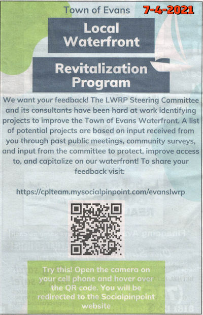 Town of Evans NY LWRP